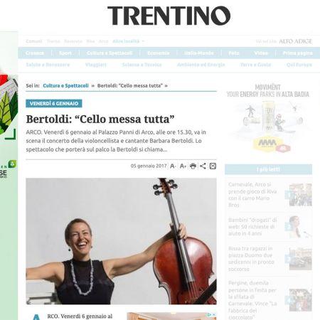 Giornale Trentino 05/01/2017