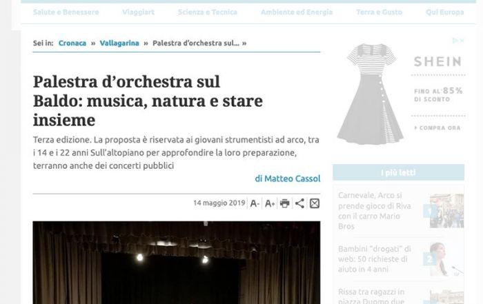 Giornale Trentino 14/05/2019