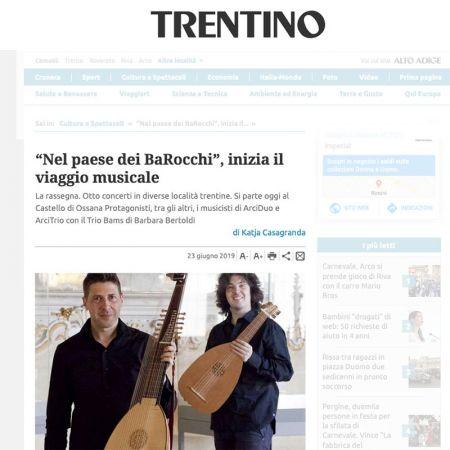 Giornale Trentino 23/06/2019