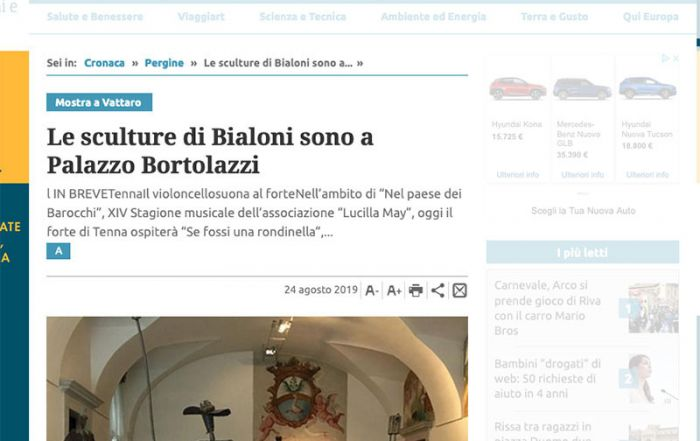 Giornale Trentino 24/08/2019