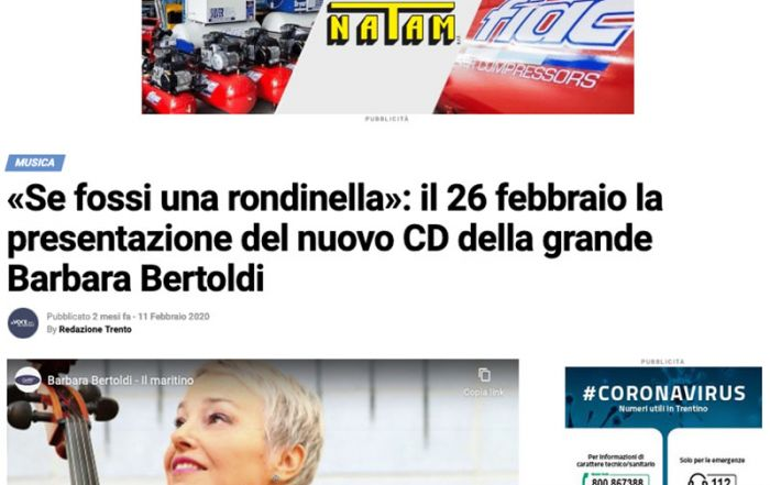La voce del Trentino 11/02/2020