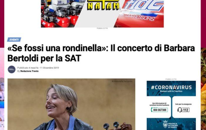 La voce del Trentino 11/12/2019