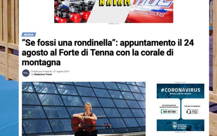 La voce del Trentino 21/08/2019
