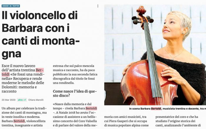 Corriere del Trentino - 03/2020
