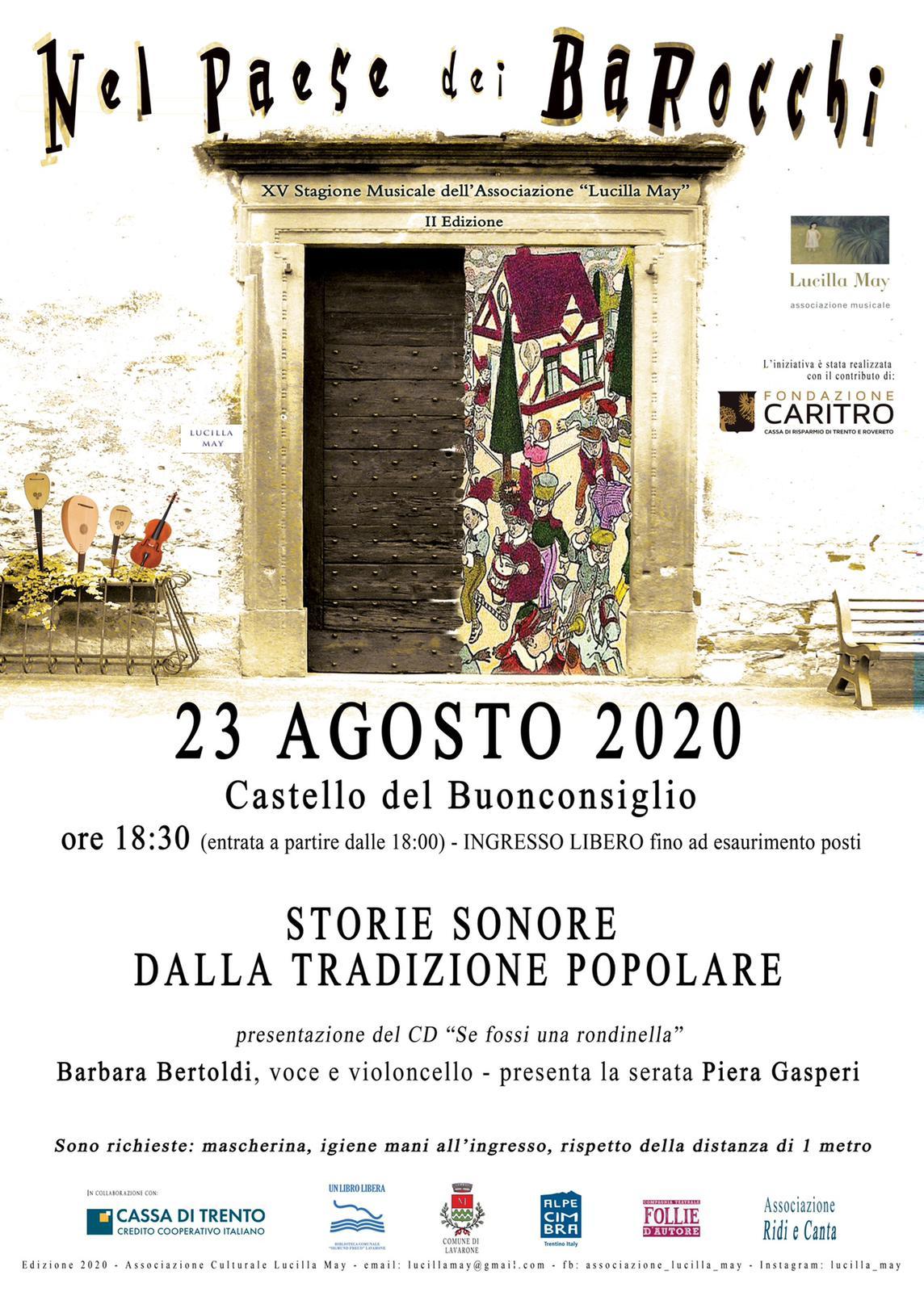 Nel Paese dei Barocchi - Barbara Bertoldi - 23/08/2020