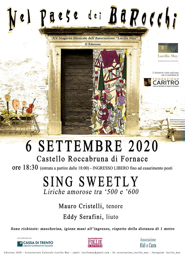 Nel Paese dei Barocchi - Sing Sweetly- 06/09/2020