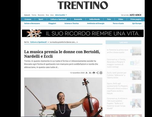 La musica premia le donne con Bertoldi, Nardelli e Eccli