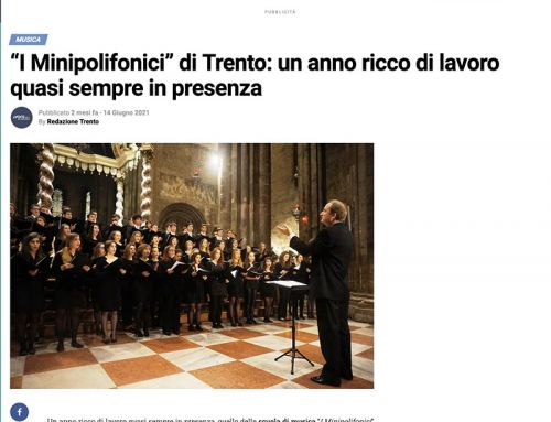"""""""I Minipolifonici"""" di Trento: un anno ricco di lavoro quasi sempre in presenza"""