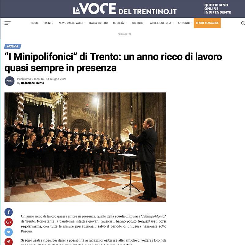 La Voce del Trentino 14/06/2021